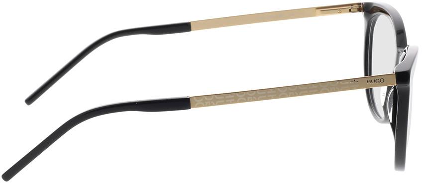 Picture of glasses model Hugo HG 1082 807 55-16 in angle 90