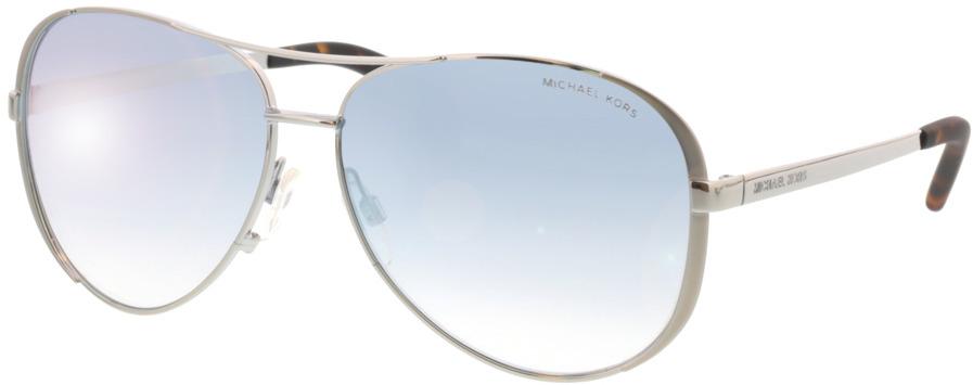 Picture of glasses model Michael Kors Chelsea MK5004 1153V6 59-13 in angle 330