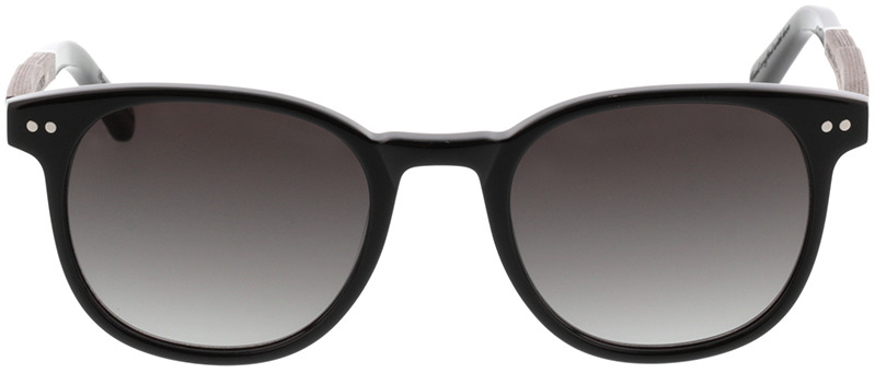 Picture of glasses model Wood Fellas Sunglasses Pottenstein zwart oak/zwart 49-21 in angle 0