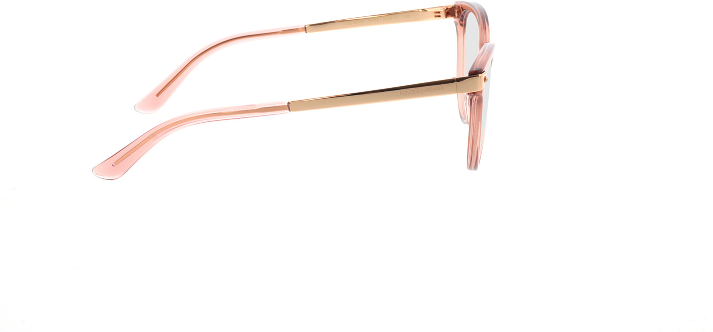 Picture of glasses model Dolce&Gabbana DG5042 3148 52-14 in angle 90