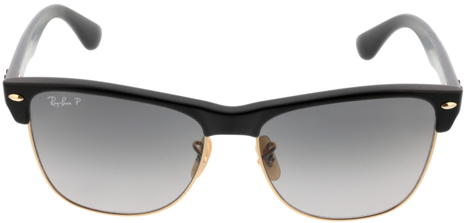 Picture of glasses model Ray-Ban Clubmaster Oversized RB4175 877/M3 57-16 in angle 0