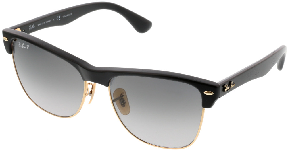 Picture of glasses model Ray-Ban Clubmaster Oversized RB4175 877/M3 57-16 in angle 330