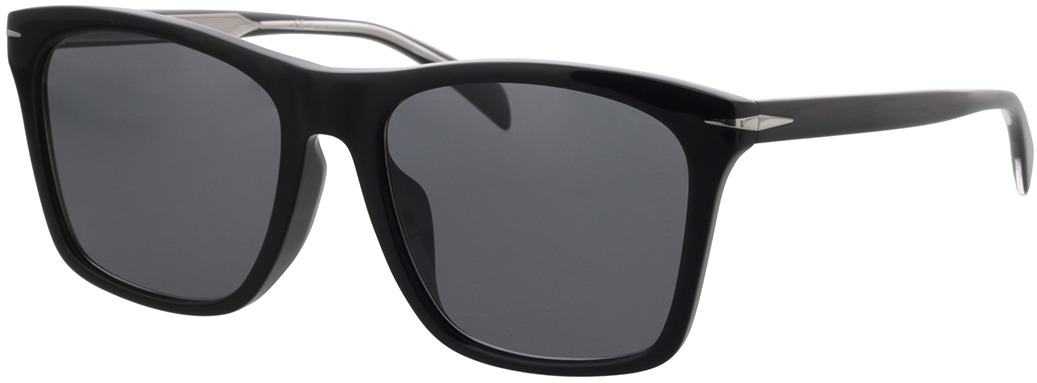 Picture of glasses model David Beckham DB 1054/F/S BSC 57-18 in angle 330