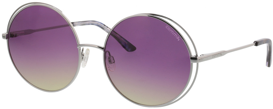 Picture of glasses model Comma, 77072 27 silber 56-17 in angle 330