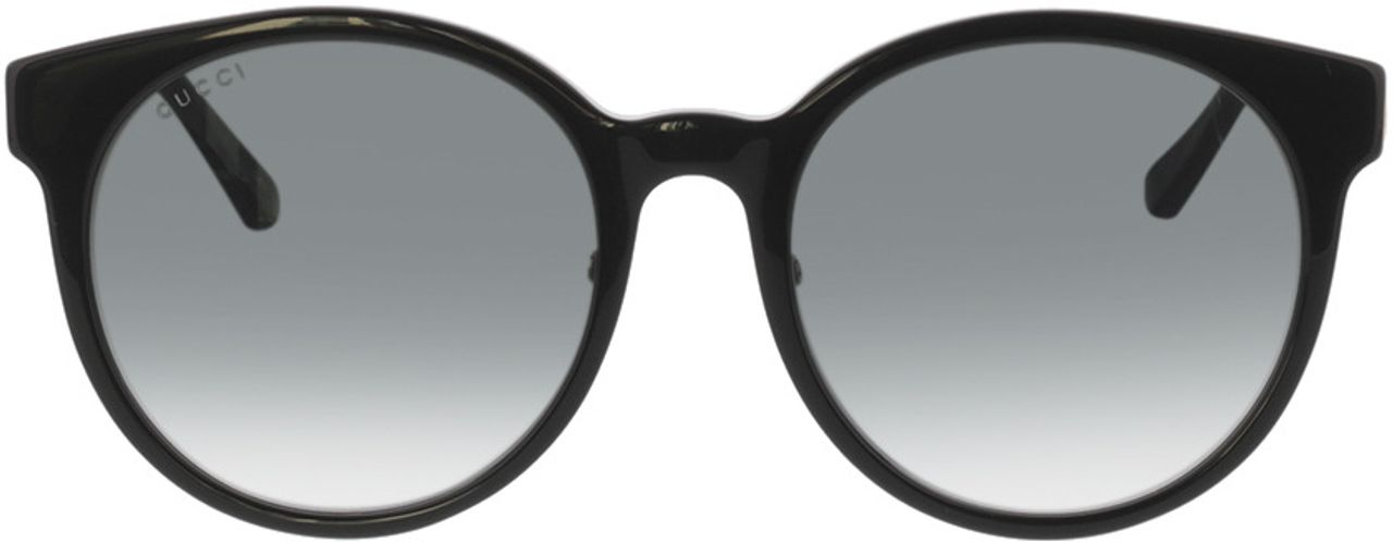 Picture of glasses model Gucci GG0416SK-001 55-20 in angle 0