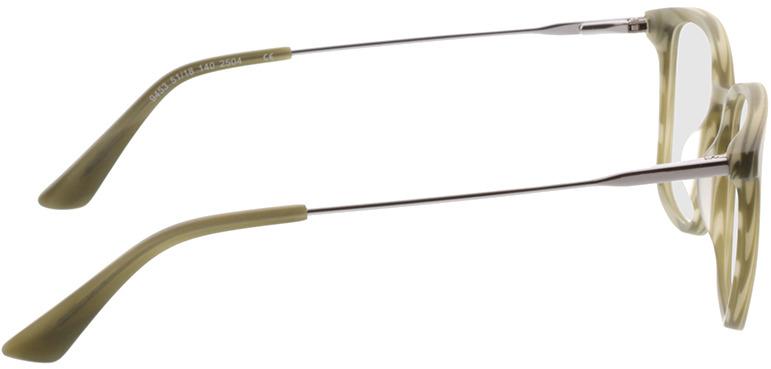 Picture of glasses model Lazio-grün-meliert/anthrazit in angle 90