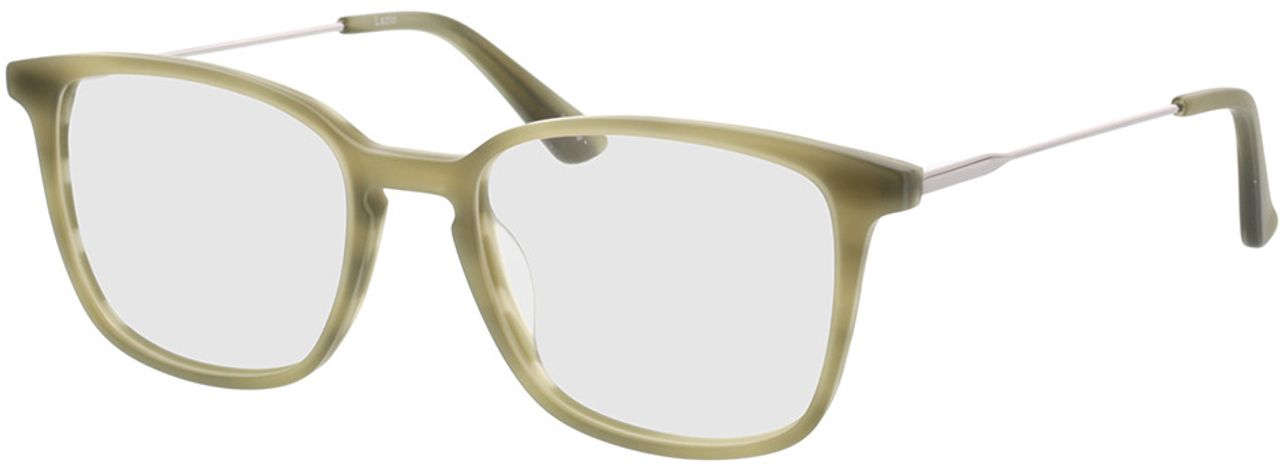 Picture of glasses model Lazio-grün-meliert/anthrazit in angle 330