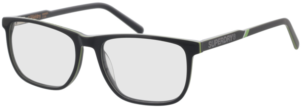 Picture of glasses model Superdry SDO Conor 108 grey/lime 55-17 in angle 330