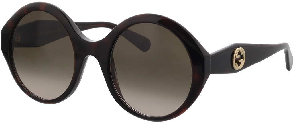 Picture of glasses model Gucci GG0797S-002 54-23 in angle 330