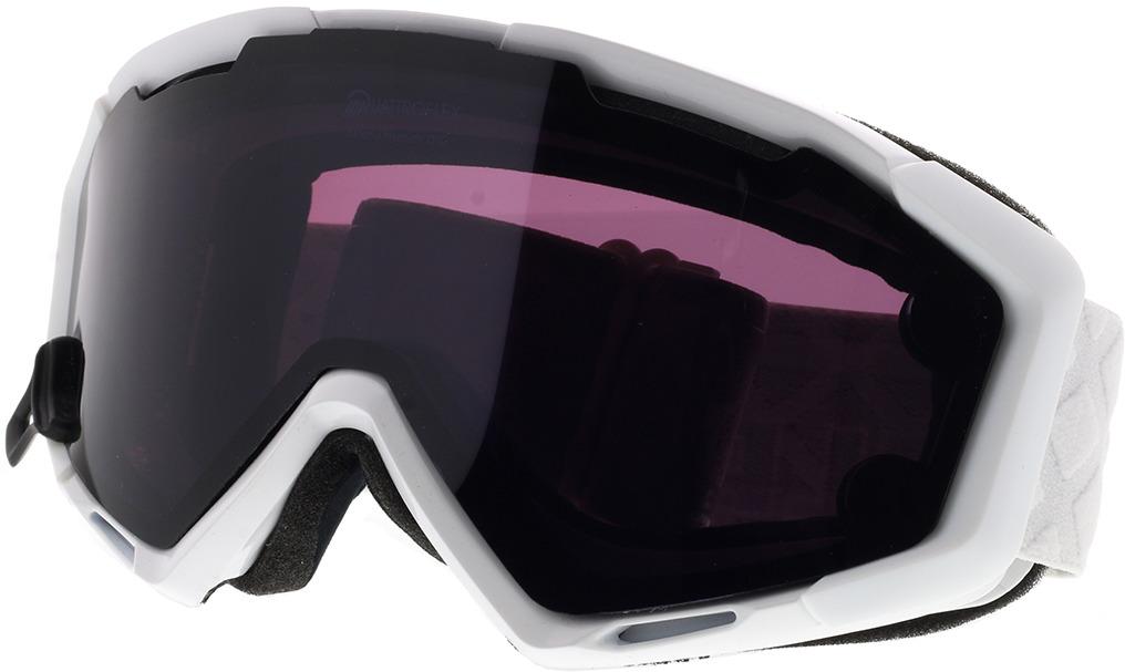 Picture of glasses model Alpina Skibrille PANOMA MAG Q white QUATTROFLEX / S black in angle 330