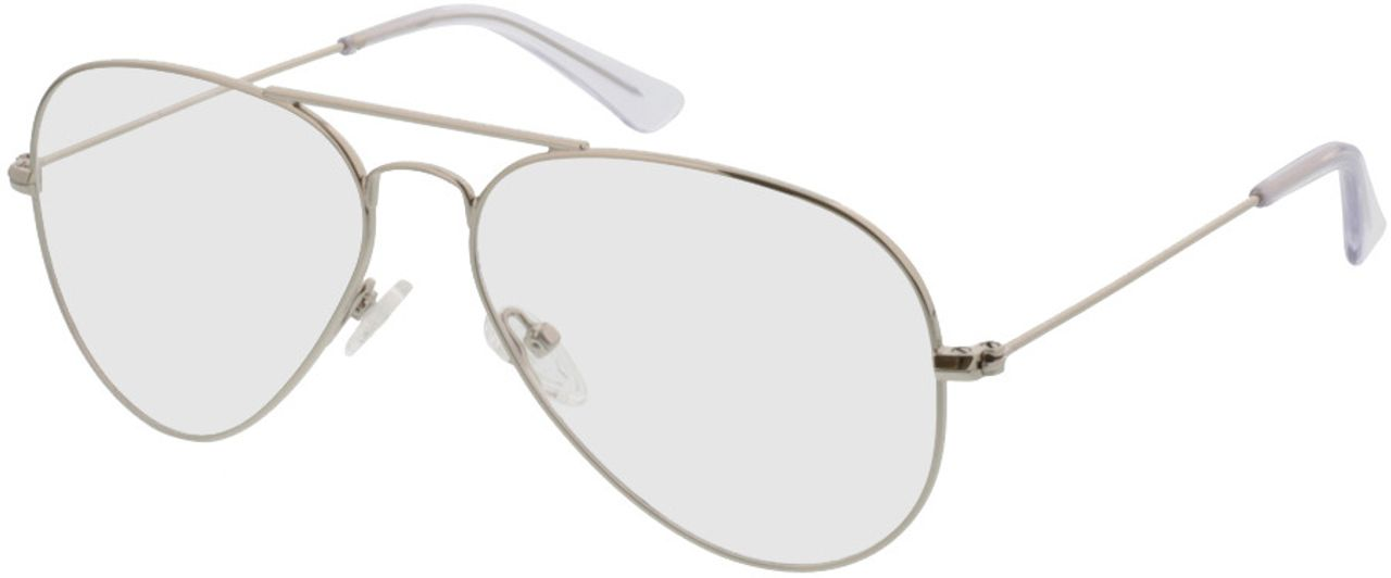 Picture of glasses model Savannah-silver in angle 330
