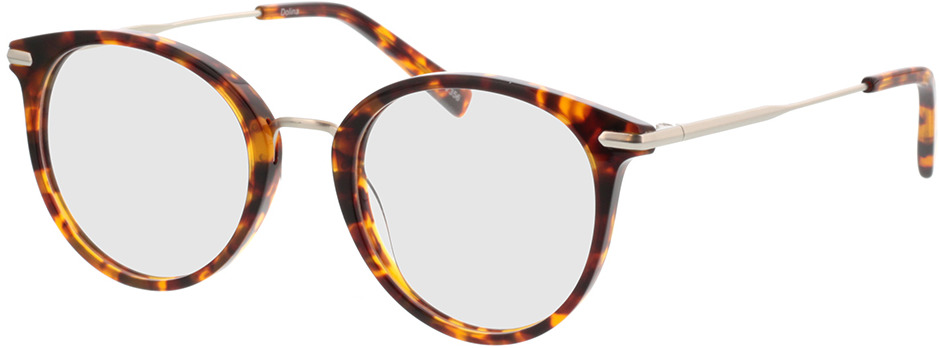 Picture of glasses model Dolina-havana/matt silber in angle 330