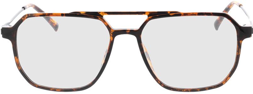 Picture of glasses model Brady-braun-meliert/matt schwarz in angle 0