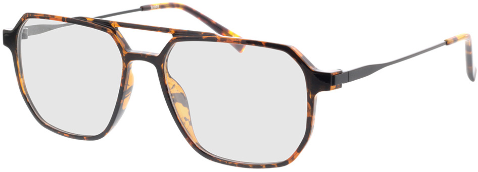 Picture of glasses model Brady-braun-meliert/matt schwarz in angle 330