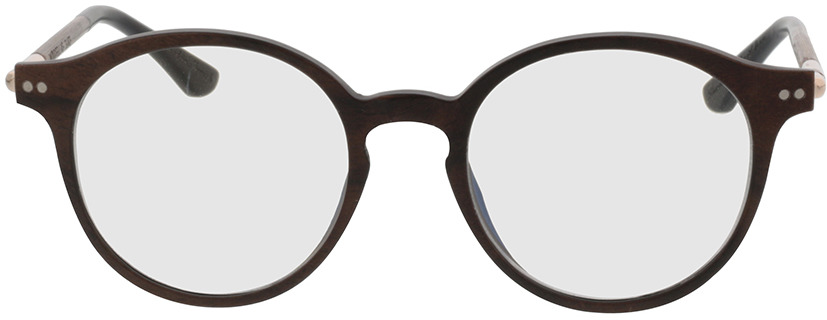 Picture of glasses model Wood Fellas Optical Slate curled 49-19 in angle 0