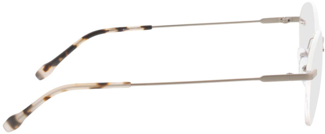 Picture of glasses model Vida-matt silber  in angle 90