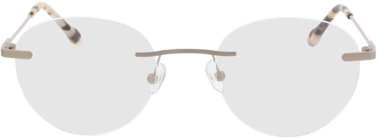 Picture of glasses model Vida-matt silber  in angle 0