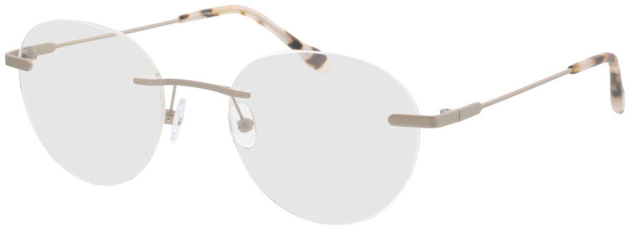 Picture of glasses model Vida-matt silber  in angle 330