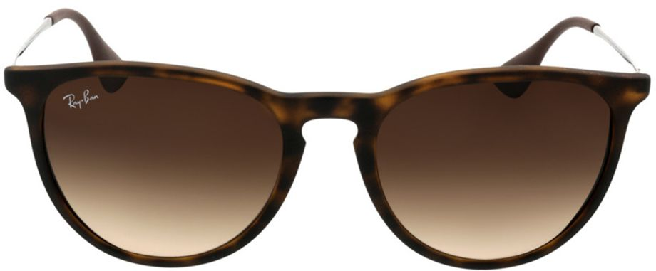 Picture of glasses model Ray-Ban Erika RB4171 865/13 54-18 in angle 0