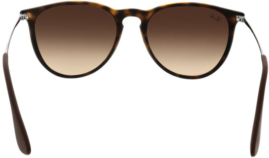Picture of glasses model Ray-Ban Erika RB4171 865/13 54-18 in angle 180