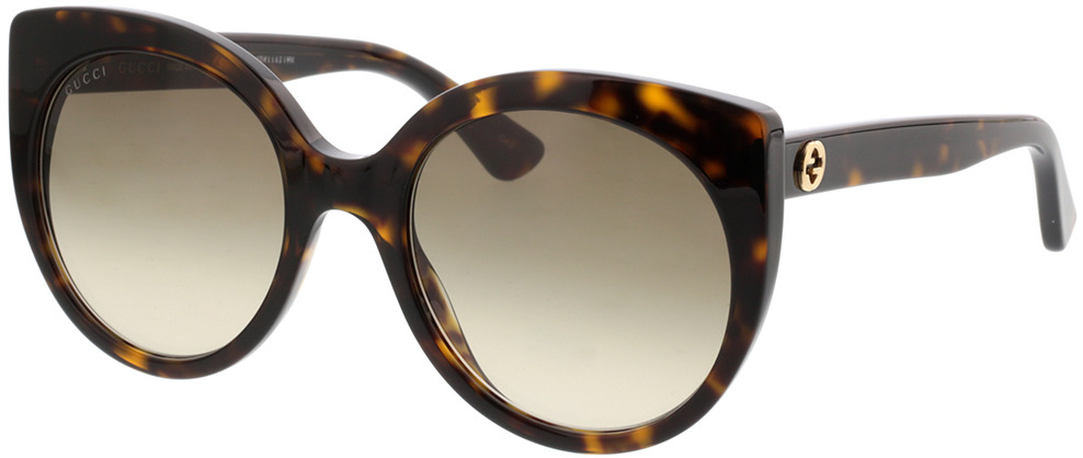 Picture of glasses model Gucci GG0325S-002 55-21 in angle 330