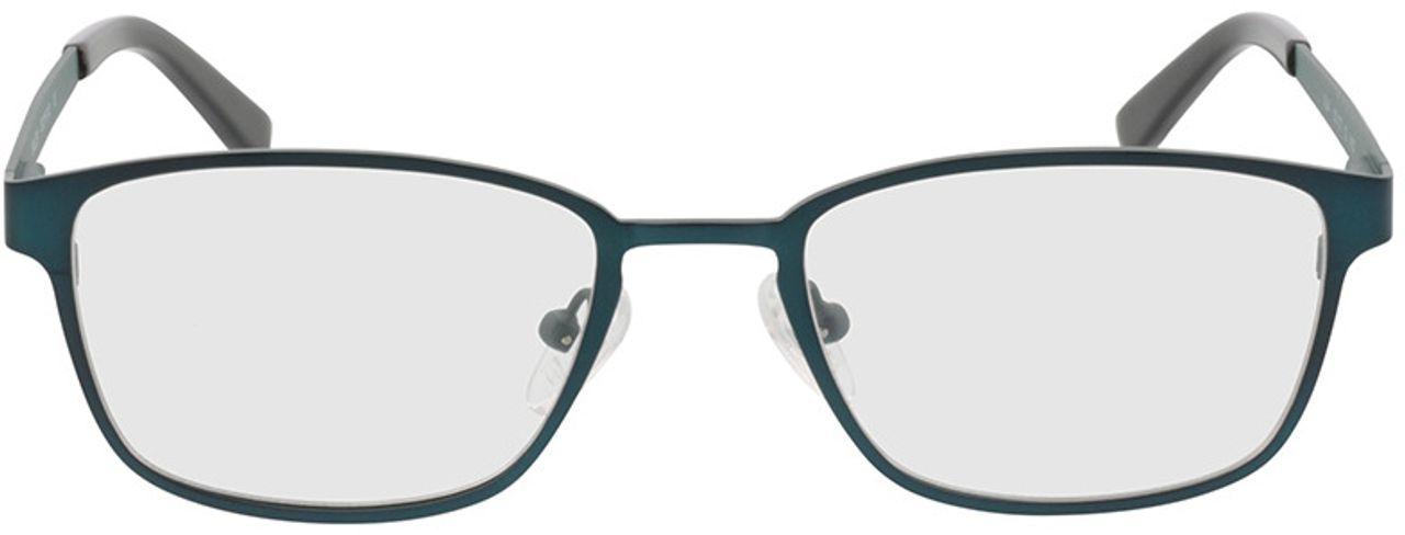Picture of glasses model Anzio green/black in angle 0