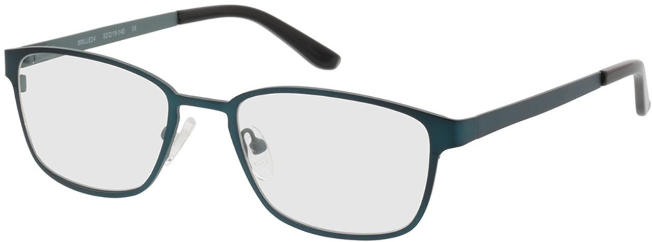 Picture of glasses model Anzio green/black in angle 330
