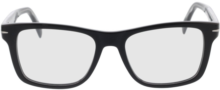 Picture of glasses model David Beckham DB 1073 BSC 54-18 in angle 0