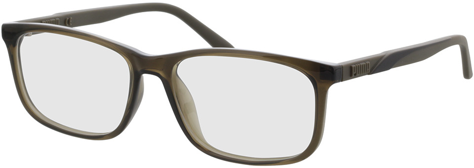 Picture of glasses model Puma PU0333O-004 in angle 330