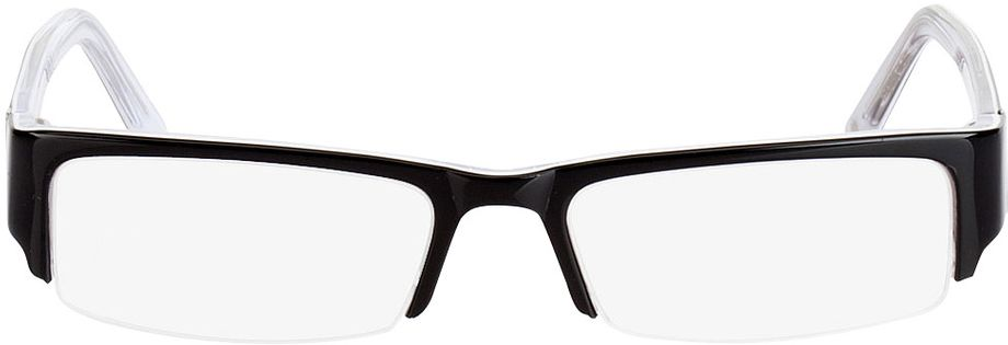Picture of glasses model Luciano-schwarz in angle 0