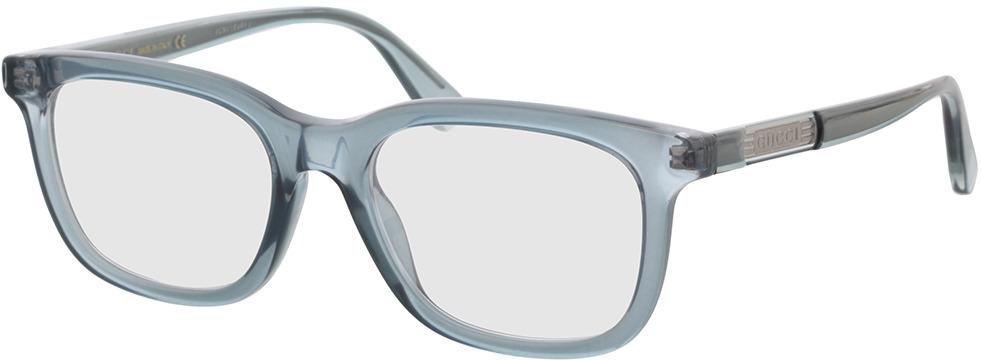 Picture of glasses model Gucci GG0938O-008 53-19 in angle 330