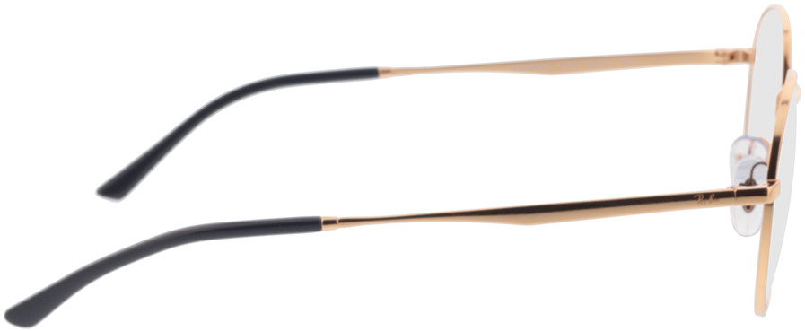 Picture of glasses model Ray-Ban RX3681V 3094 48-20 in angle 90