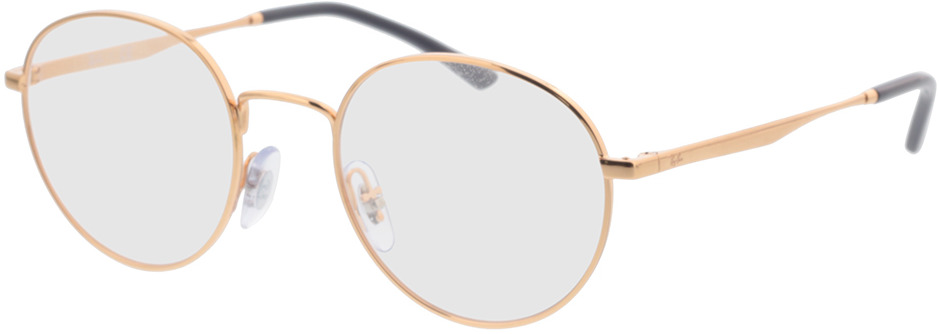 Picture of glasses model Ray-Ban RX3681V 3094 48-20 in angle 330