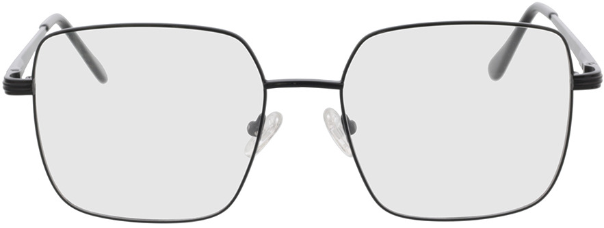 Picture of glasses model Rosedale-schwarz in angle 0