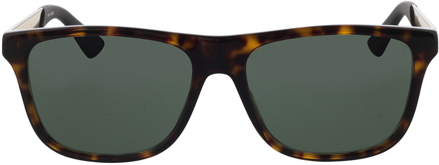 Picture of glasses model Gucci GG0687S-003 57-17 in angle 0