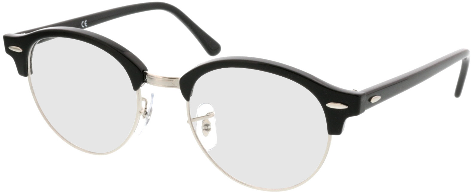 Picture of glasses model Ray-Ban RX4246V 2000 49-19 in angle 330