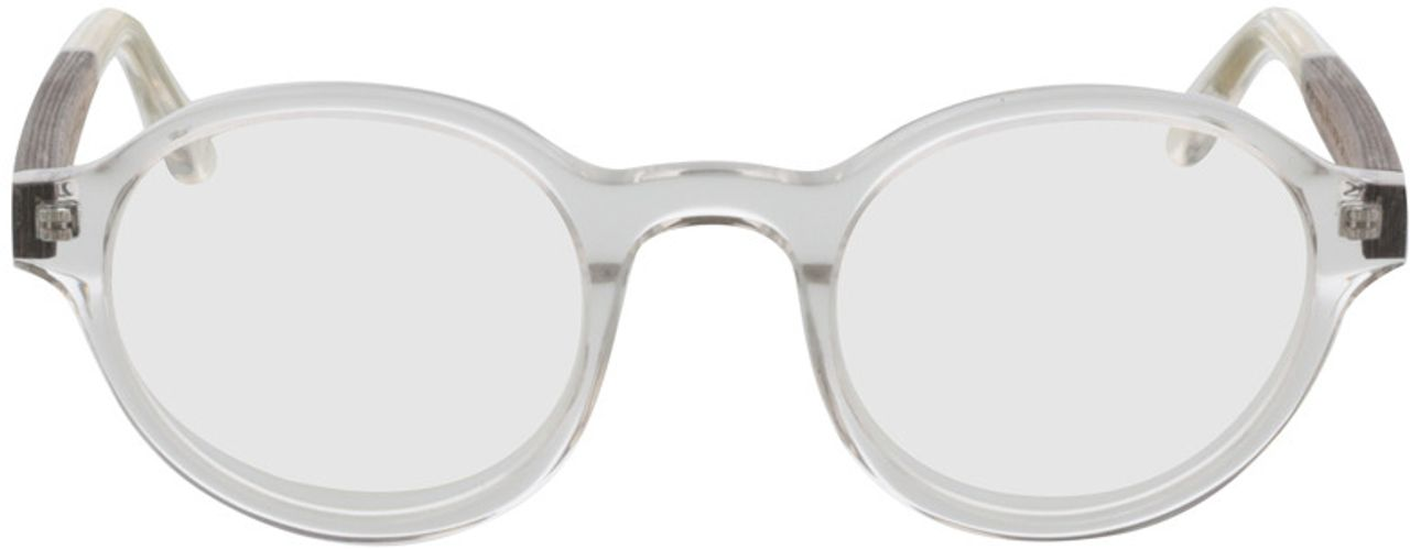Picture of glasses model TAKE A SHOT Medea FX: Walnussholz 47-22 in angle 0