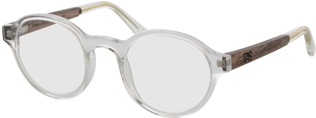 Picture of glasses model TAKE A SHOT Medea FX: Walnussholz 47-22 in angle 330