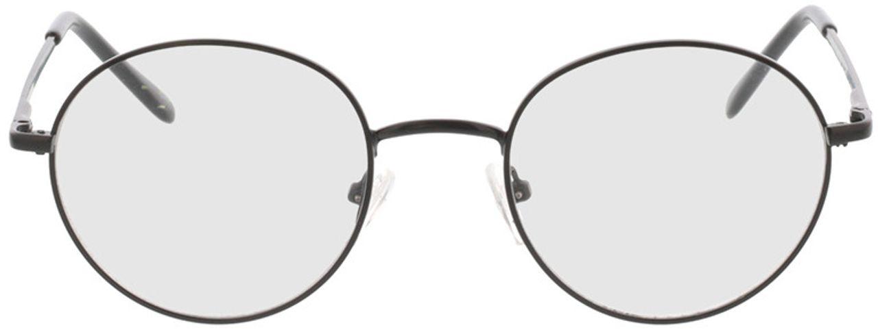 Picture of glasses model Luna-schwarz in angle 0