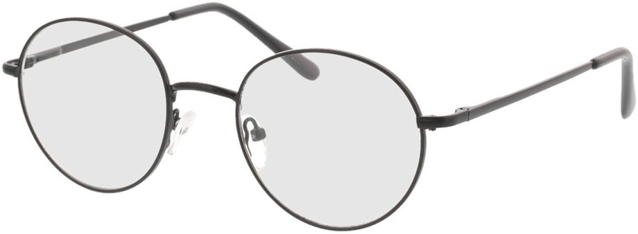 Picture of glasses model Luna-schwarz in angle 330