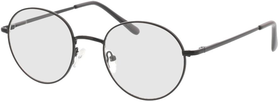 Picture of glasses model Luna-schwarz in angle 330