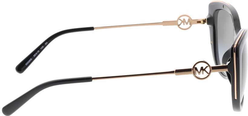 Picture of glasses model Michael Kors MK2127U 33328G 55-18 in angle 90