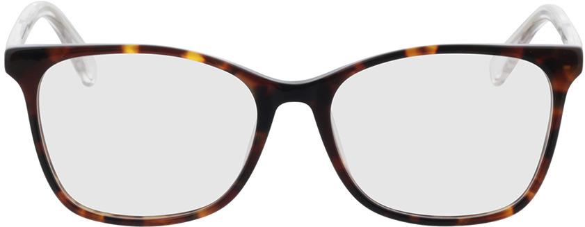 Picture of glasses model Tunja-havana/transparent in angle 0