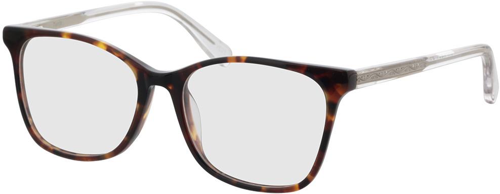 Picture of glasses model Tunja-havana/transparent in angle 330