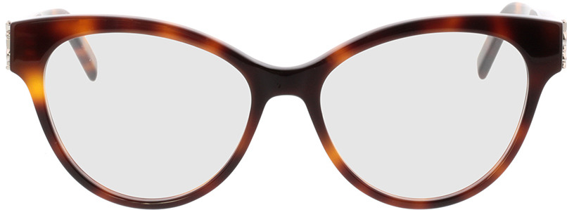 Picture of glasses model Saint Laurent SL M34-005 53-16 in angle 0