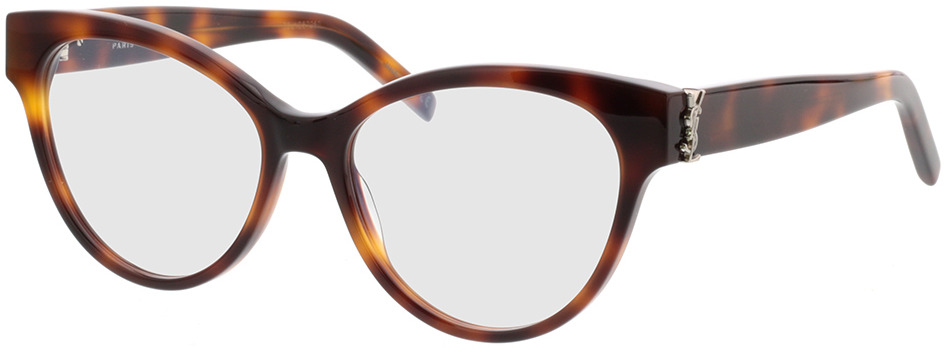 Picture of glasses model Saint Laurent SL M34-005 53-16 in angle 330