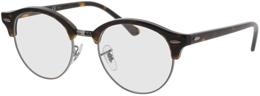 Picture of glasses model Ray-Ban Clubround RX4246V 2012 49-19 in angle 330