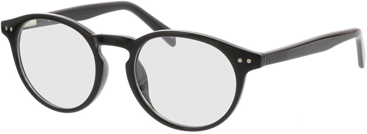 Picture of glasses model Delion-schwarz in angle 330