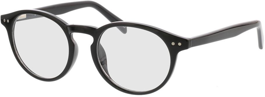 Picture of glasses model Delion-schwarz in angle 330