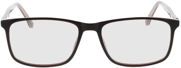 Picture of glasses model Gotland-brown in angle 0